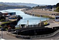 East Quay and North Quay in Hayle which have recently been sold